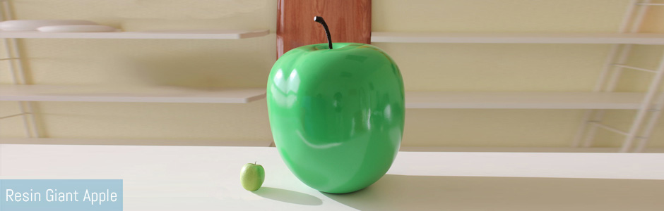 Resin Apple