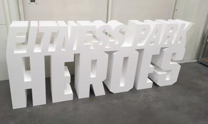 lettre polystyrène expansé + faces PVC
