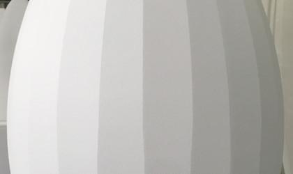 Oeuf polystyrène expansé avec facettes