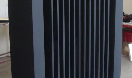 Polystyrene radiator