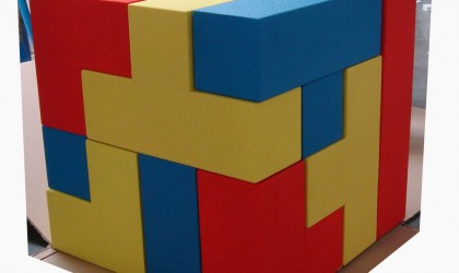 Giant tetris blocks