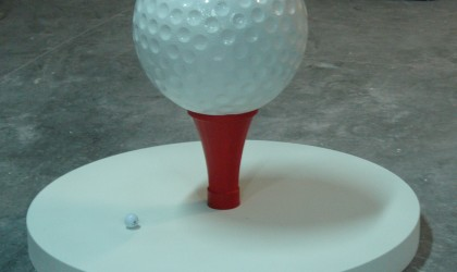 Resin golf ball