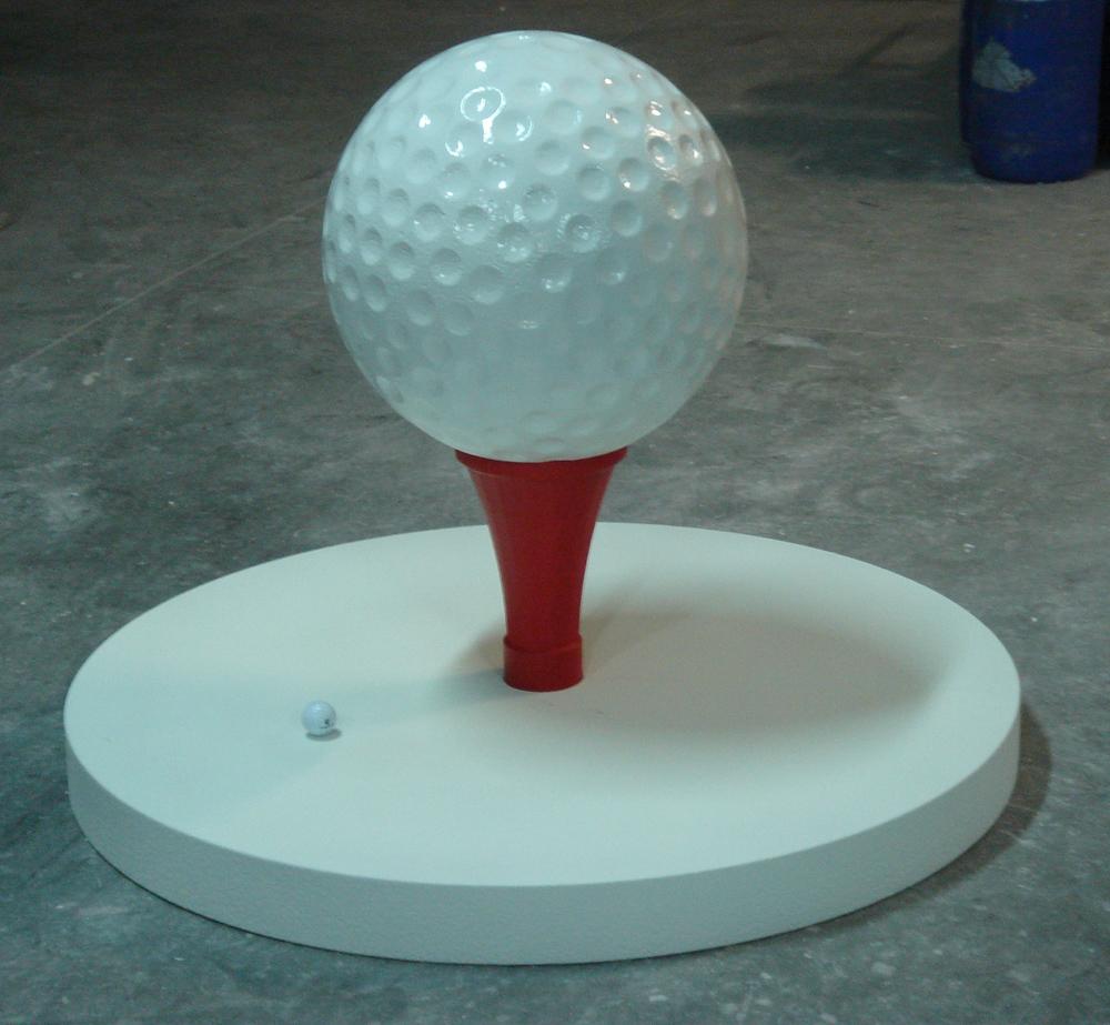 balle topee golf