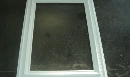 Polystyrene frame