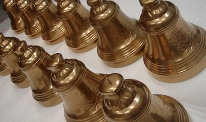 Resin golden bell