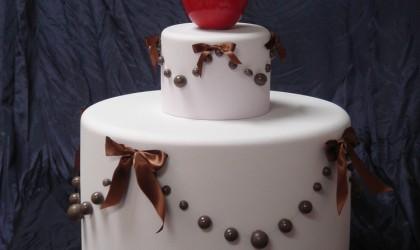 Resin cake