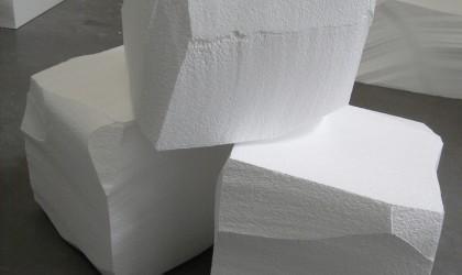 Polystyrene ice block