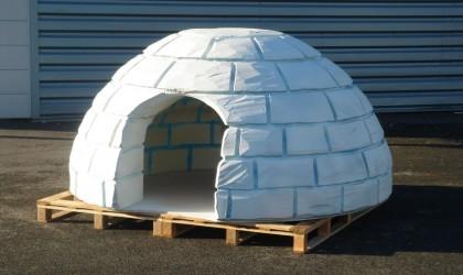 Polystyrene igloo
