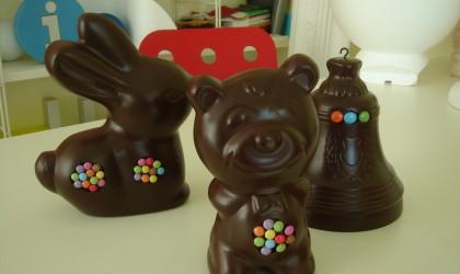 Animaux en résine chocolat