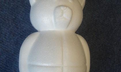 Polystyrene bear