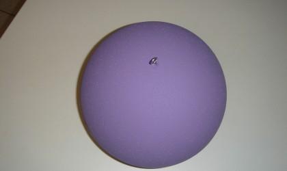 Molded sphere & paint
