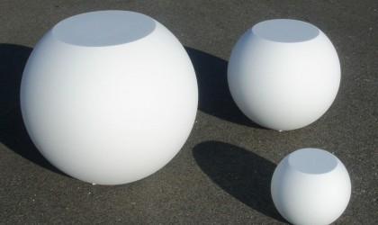 Expanded polystyrene sphere